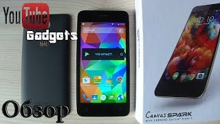Micromax Canvas Spark Q380 Android 5.0 Lollipop Обзор смартфона