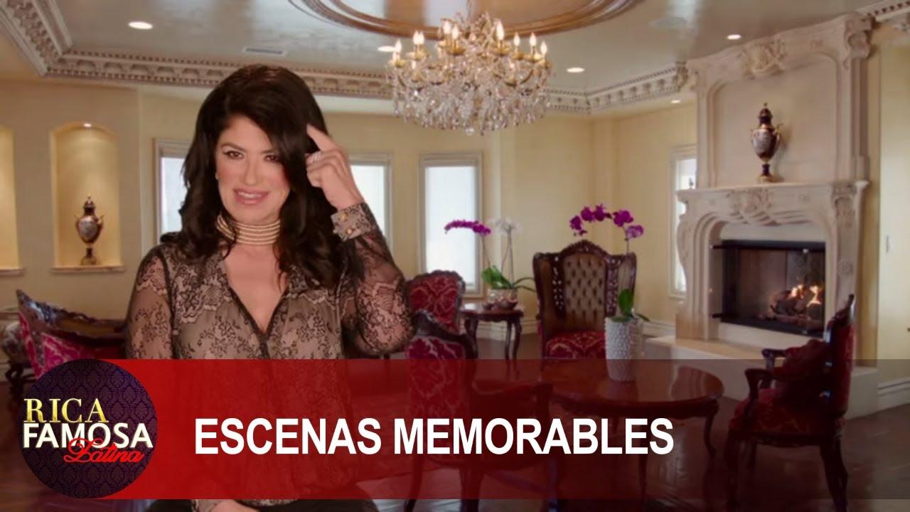 """TIENES POCO CEREBRO"" SANDRA AVERGUENZA A PABLITO | Rica Famosa Latina | Escenas Memorables"