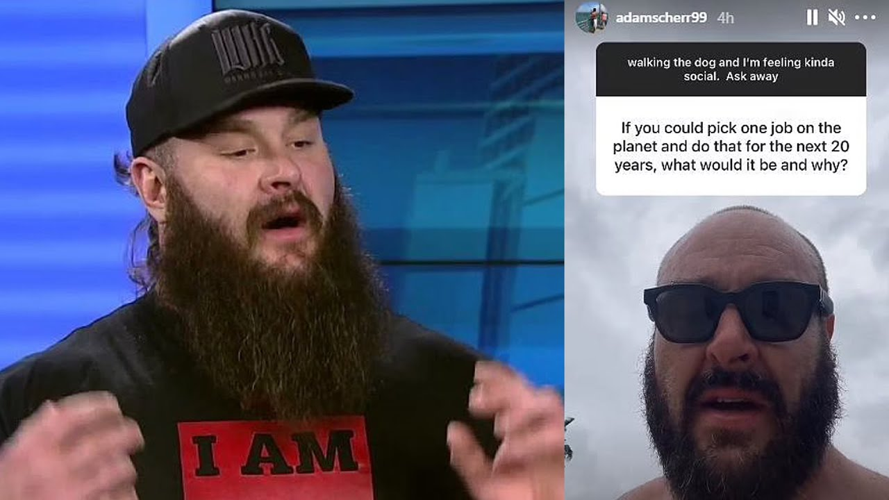 Braun Strowman REVEALS Possible Career After WWE