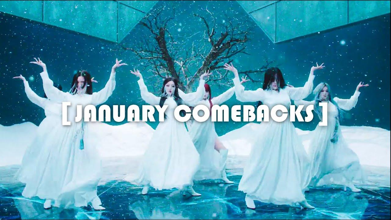 A Little January Review – January Kpop Comebacks