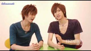 "D It is my stickman!OTP. ""Everyone viewing VBB, hello!"" ""I'm Aiba H..."