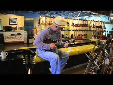 "Carter Vintage Guitars - Mike Compton - Sim Daley F-5 ""Hoss"" Replica"