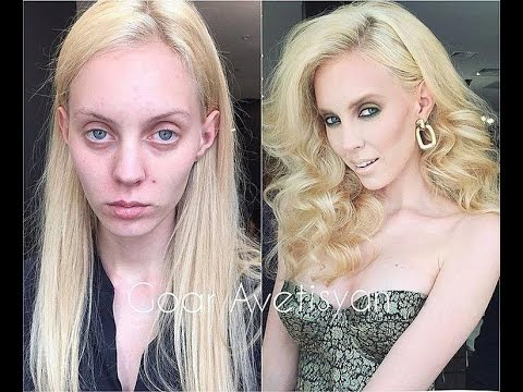 Before and After Makeup & make miracles & Supermodels ...