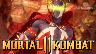 "SPAWN BRUTALITY COMBO FINISH! - Mortal Kombat 11: ""Spawn"" Gameplay"