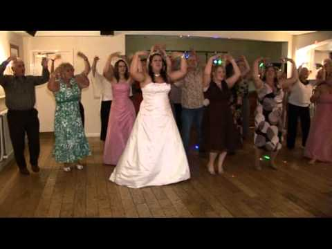 Mamma mia at Kelly & Phils Wedding Reception