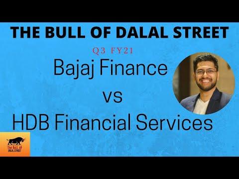 Bajaj Finance vs HDB Financial Services | Comparison post Q3 FY21 (हिन्दी)