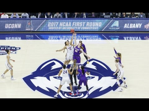 UConn Women's Basketball Highlights vs. Albany 03/18/2017 (NCAA Tournament First Round)