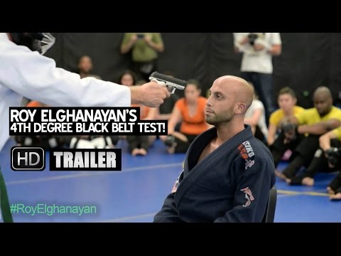 Roy Elghanayan's 4th Degree Black Belt Test In Krav Maga & Israeli Ju Jitsu - Trailer