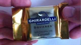 Ghiradelli Squares Milk Chocolate With Caramel Review