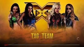 WWE 2K18 - The Iconic Duo VS Dana Brooke and Emma