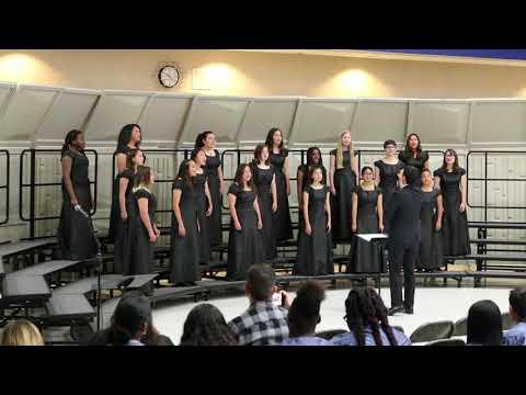 Hans Christensen Middle School Advanced Choir Music Festival 2019