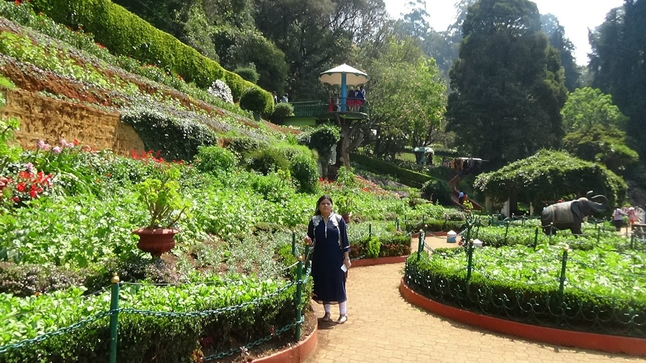 Ooty Botanical Garden Evergreen And Very Cool Place Youtube