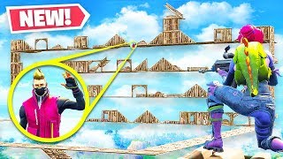 *NEW* SKY DEATH RUN Custom Gamemode in Fortnite Playground Mode!