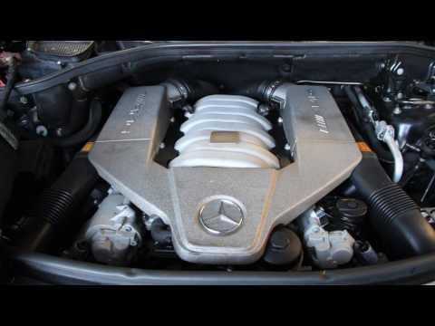 Motor Probelauf Mercedes  W164 ML 63 AMG