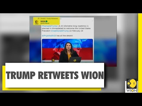 Donald Trump Retweets WION | WION News| India News