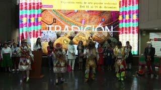 Peru artisans showcase their work at fair
