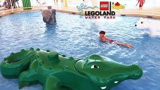Lego Duplo Water Park Kids Fun - Water Slides