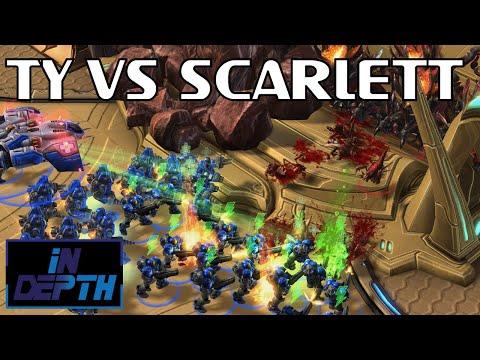 TY Vs Scarlett / StarCraft 2 - IN-DEPTH #30a