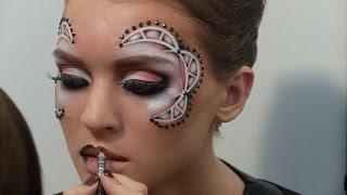 Готовимся к конкурсу, конкурсный макияж и боди Арт. Королькова