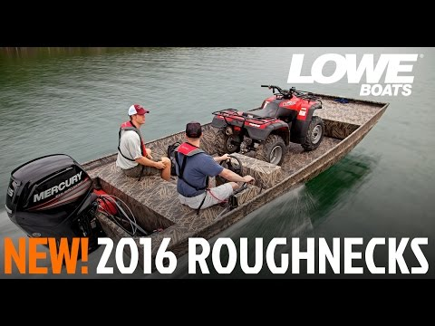 Lowe Boats 2015 Roughneck Hunting Fishing Jon Boats Youtube