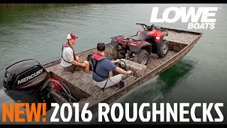 Lowe Boats - 2015 Roughneck Hunting & Fishing Jon Boats
