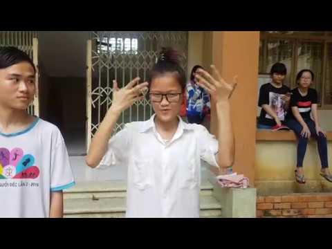 Học sinh sinh viên Điếc chúc mừng ngày nhà giáo viên Việt Nam 20-11