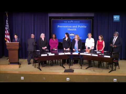White House Public Health & Prevention Champions of Change