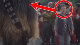 Why Chewbacca Ignored Leia After Han's Death