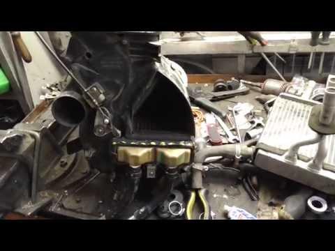 Замена радиатора печки hyundai hd78 на mark2 90
