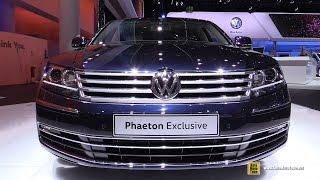 2016 Volkswagen Phaeton Exclusive - Exterior, Interior Walkaround - 2015 Frankfurt Motor Show