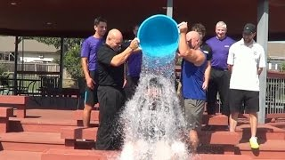Genesis Health Clubs Ice Bucket Challenge!