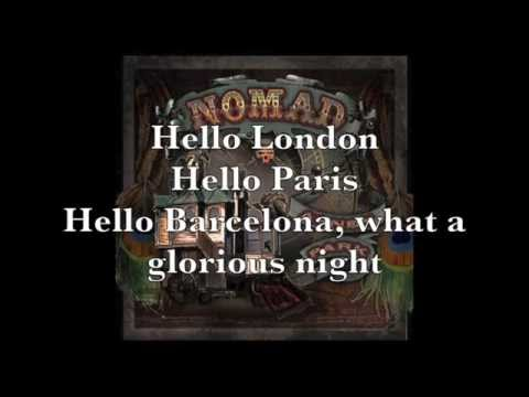 Abney Park - Night Traing from Saint Petersburg (lyrics)