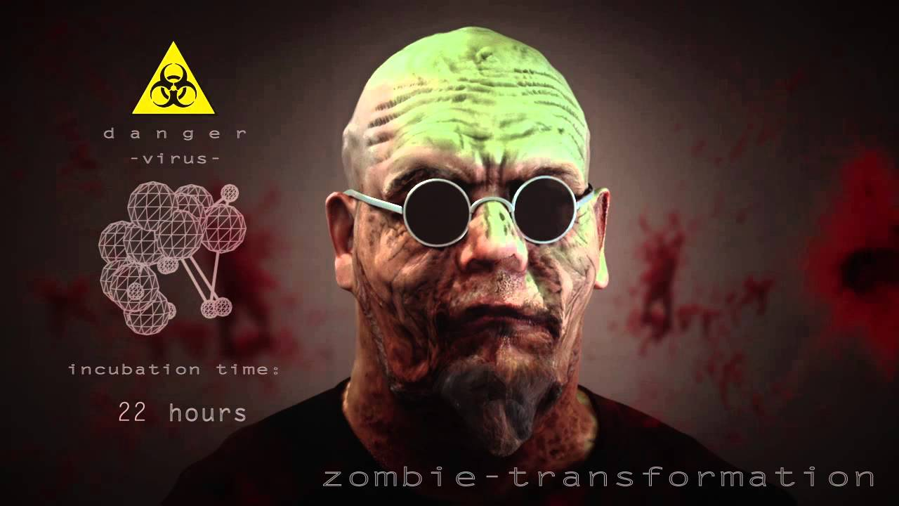 zombie transformation youtube