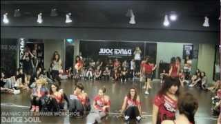 MANIAC / 2012 dance like MANIAC workshop @DANCE SOUL 舞魂 studio
