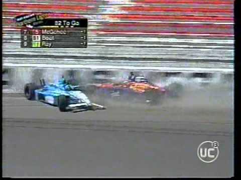 Choque Entre Sarah Fisher Y Eliseo Salazar - IRL Las Vegas 2000