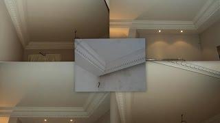 Amenajari interioare apartament - montaj cornise tavan