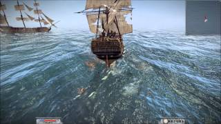 Napoleon Total War Online Naval Battle #01