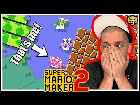 Super Mario Maker 2: Multiplayer #5: The REAL Battle Royale Game!