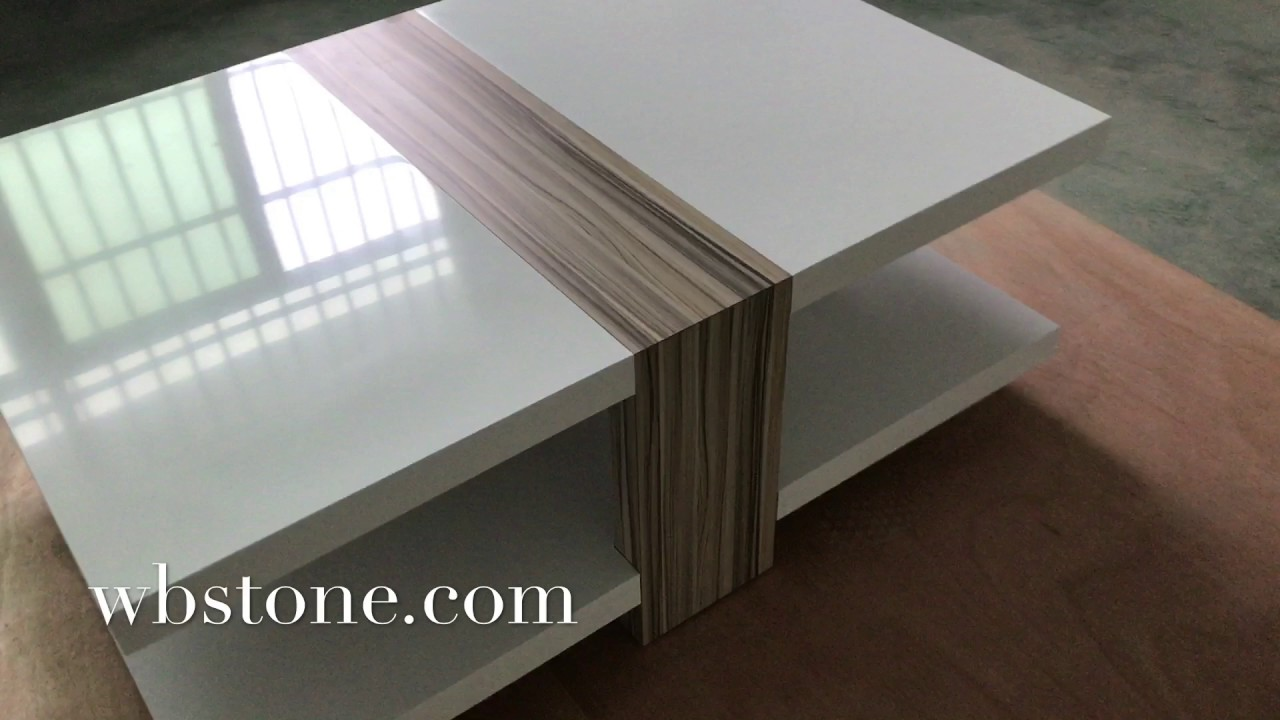 Gentil Corian Coffee Table New Artificial Stone Material Corian In Furniture From  WANBEST