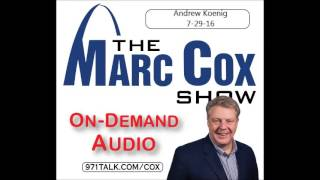 Andrew Koenig on The Marc Cox Show: Government Should Be Neutral on These Things