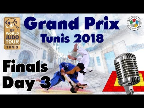 Judo Grand-Prix Tunis 2018: Day 3 - Final Block
