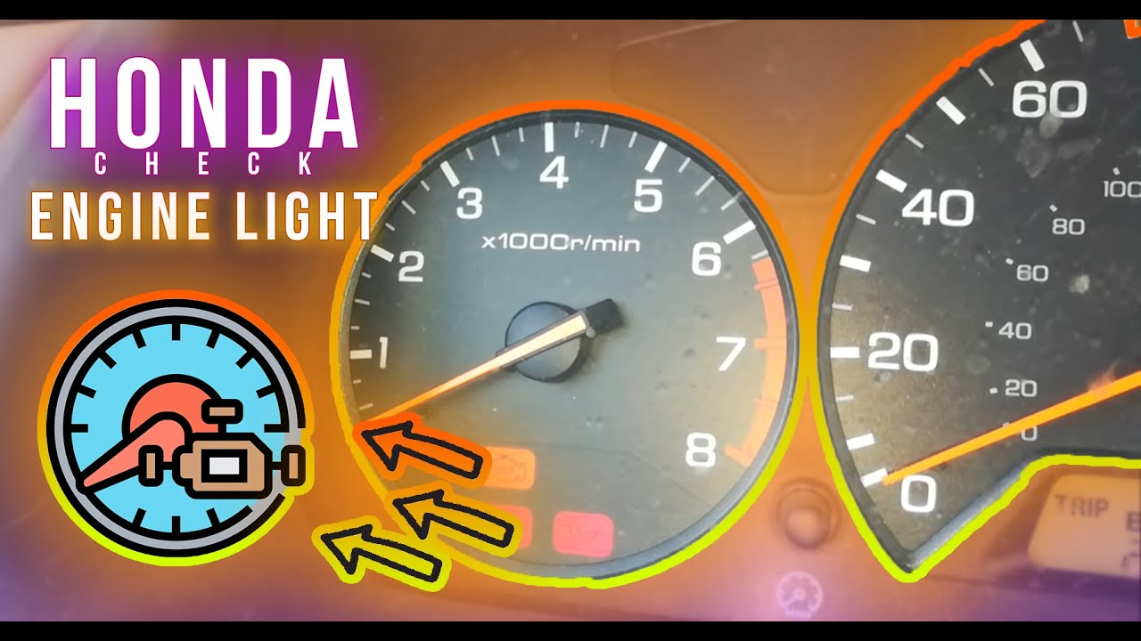 How To Reset Honda Accord Check Engine Light 1998 1999 2000 2001 2002 Youtube