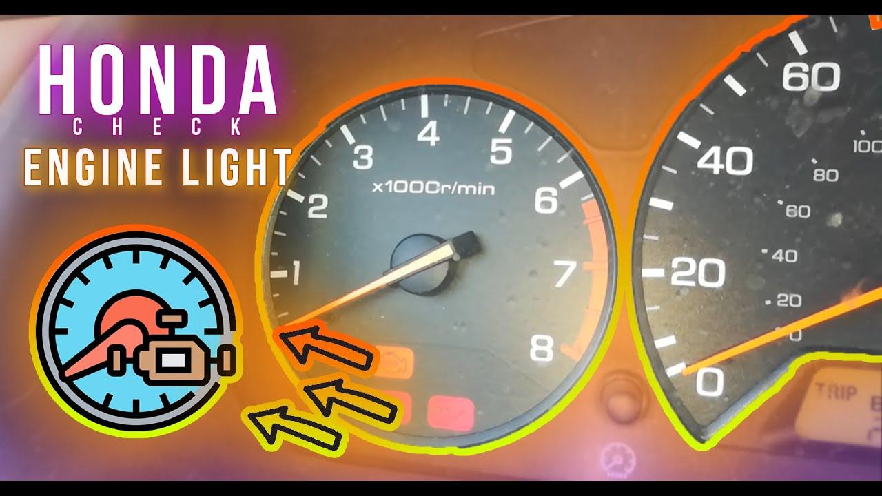 1999 Honda Civic Check Engine Light