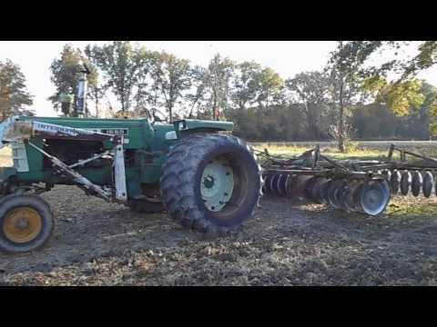 1550 Oliver with duals & Disking
