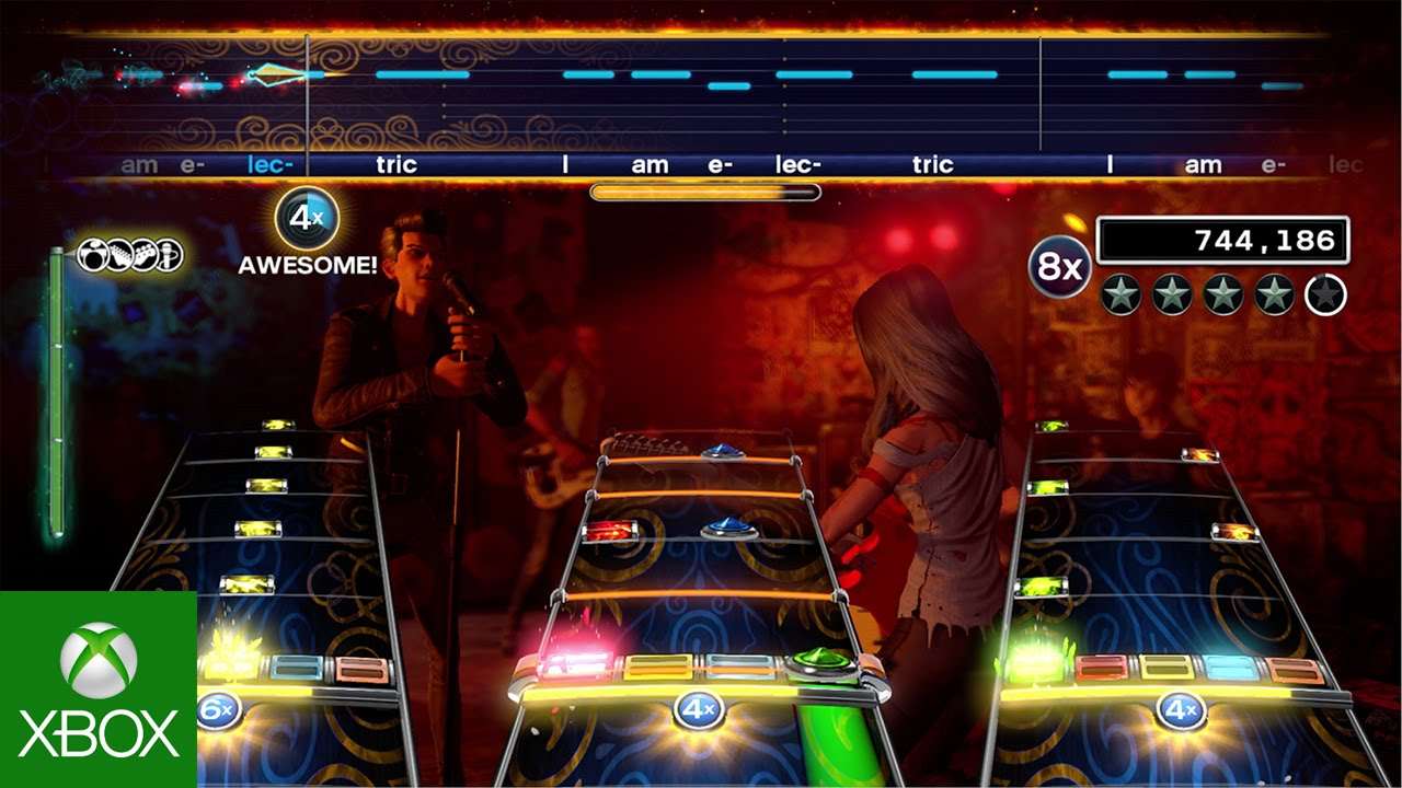 Rock Band 4 Electric Trailer