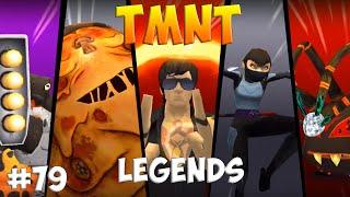 Черепашки-Ниндзя: Легенды. Прохождение #79 ALL Bosses (TMNT Legends IOS Gameplay 2016