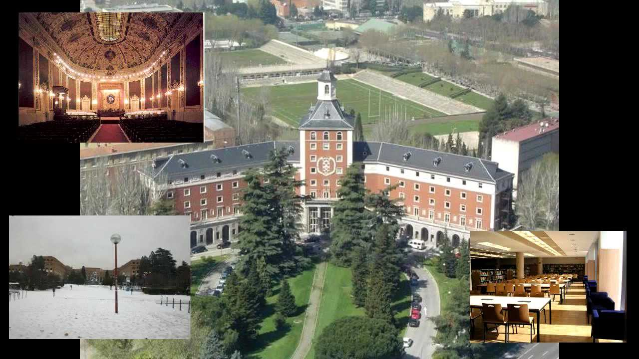Universidad complutense de madrid youtube for Universidad de madrid