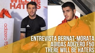 Entrevista a Bernat y Morata // adidas adizero f50: There will be haters
