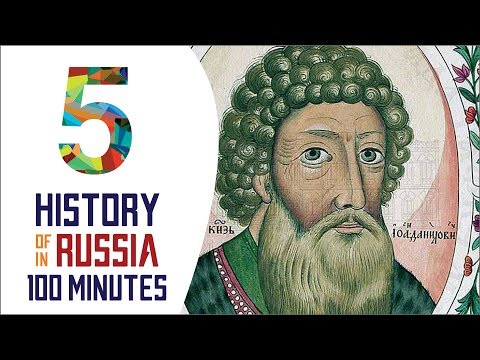 Grand Duchy of Moscow - History of Russia in 100 Minutes (Part 5 of 36)
