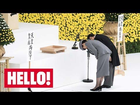 Celebrity daily edit: Japanese royals mark war anniversary - video